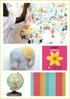 World Traveler nursery theme ideas