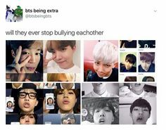 This is their way of saying they love each other dearly...this is what siblings do huhuhu  -@BeautyandthePoet