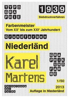 karel martens poster by matthieu salvaggio