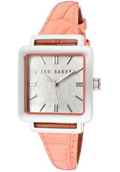 Price:$37.31 #watches Ted Baker TE2018, Whether it's a night out on the town or a day at the park this versatile Ted Baker timepiece always makes a scene.