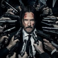 Keanu Reeves John Wick Chapter 2 Under The Gun