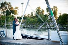 Nautical wedding day portraits  / LinneaLiz Photography / www.LinneaLiz.com