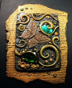 Olive Garden Journal Cover - Photos - Polymer Clay Adventure