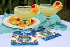 If you love margarita's I am sure you and your friends will enjoy this recipe. My husband and I have margarita nights when we will invite a friend or two. One batch is not enough so I usually will double it. REMINDER: This is my recipe and you will not find it anywhere else including here on the internet or any book.Sit back and enjoy...
