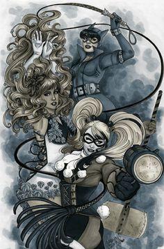 Gotham City Sirens by Jessica Lynn