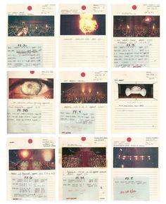 BLADE RUNNER (1982) dir. Ridley Scott, opening sequence (FX Storyboards)