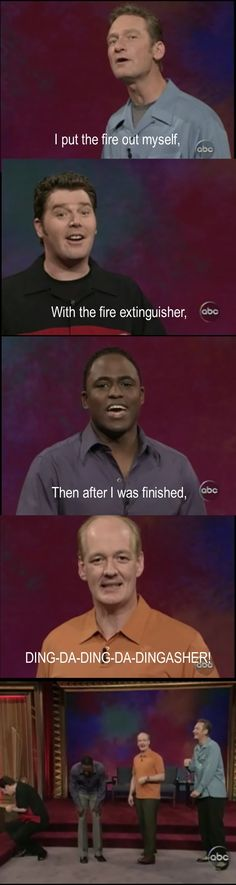 Whose Line Is It Anyway.. Classic Colin!