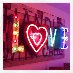 Bright like Neon Love  By Chris Bracey