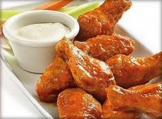 Print PDF     Recipe: T.G.I. Friday's Chicken Wings Ingredients 15 fresh chicken wings (about 3 pounds) cherry tomatoes, as garnish carrot, cut in sticks,as garnish ce...
