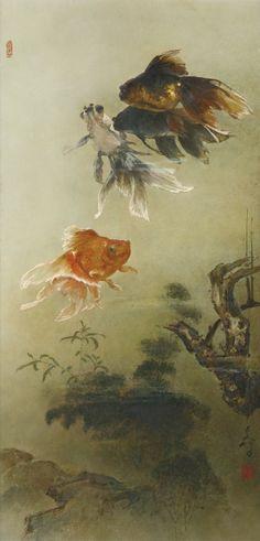 "laclefdescoeurs: "" Goldfish, Lee Man Fong """