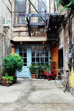 Local city guide—New York City. Freeman's Restaurant: Lower East Side. (What we love: A hidden gem- literally, it's in the back of an alley. Think Edgar Allen Poe novel meets food).