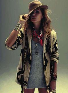 jacket, hat, accessories