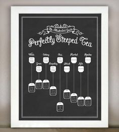 Perfectly Steeped Tea: An Illustrated Guide | Art Prints | Lettered & Lined | Scoutmob Shoppe | Product Detail
