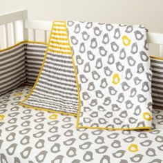 Our master bedroom is gray and yellow too! I would love this for our baby (whenever we have one, lol).