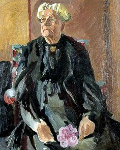 Lady Strachey by Vanessa Bell 1923