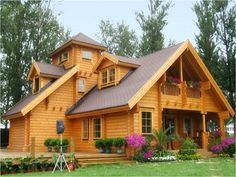 800x600 Sweet Wooden House Wallpaper Preview