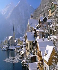 Tucked away in the mountains of Austria you'll find the tiny town of Hallstatt. Hallstatt and its population of less than 1000 residents re.