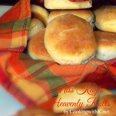 Cooking with K - Southern Kitchen Happenings: Miss Kay's Heavenly Rolls