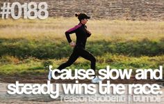Better to do it slow and let your body heal, then fast and flabby.