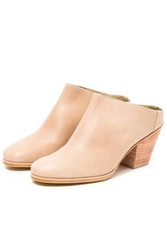 e6f0626f3c36 Rachel Comey s signature Mars Mule in Polished Stone. Made in Peru from  100% leather