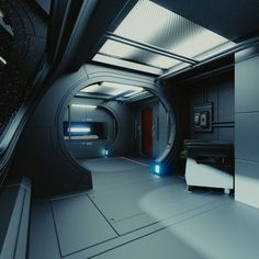 Spaceship Interior C HD Model available on Turbo Squid, the world's leading provider of digital models for visualization, films, television, and games. Spaceship Interior, Futuristic Interior, Spaceship Design, Science Fiction, Science Jokes, Easy Science, Preschool Science, Elementary Science, Science Fair