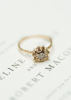 Vintage Wedding Ring | Spanish Charm - All Things Lovely Paper Co.