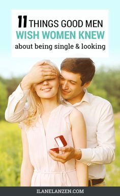 A friend of mine wants to share with you the top things that get talked about over and over again by really good men who are single and looking.