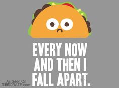 Taco Eclipse Of The Heart T-Shirt - http://teecraze.com/eclipse-of-the-heart-t-shirt/ - Designed by David Olenick #tshirt #tee #art #fashion #clothing #apparel