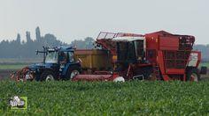 Suikerbieten rooien met loonbedrijf Otten en Riecam RBM 300 S -Trekkerweb