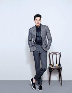 Kim Woo Bin for Sieg Fahrenheit Spring 2016 campaign