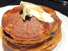 AVAILABLE TO EVERYONE: Flourless Sweet Potato Pancakes (Free of Gluten, Dairy, Gum, Added-Starch and Nuts) - https://glutenfreerecipebox.com/flourless-sweet-potato-pancakes-gluten-free/ #glutenfree #dairyfree #nutfree #gumfree #noaddedstarch #paleo #refinedsugarfree