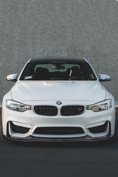 mistergoodlife:  Alpine White BMW F80 M3 - Vorsteiner Carbon Fiber Front Lip Spoiler | Mr. Goodlife