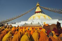 Bodnath Stupa in Katmandu (Nepal)