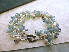 Cluster Shades of the Sea Mermaid Bracelet – Rings and Things