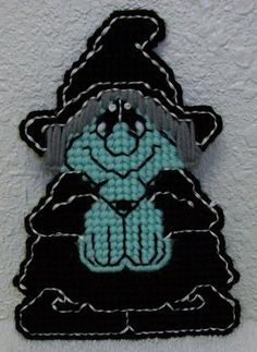 1834 Witch Paws Here Bookmark by CraftsbyRandC on Etsy, $3.95
