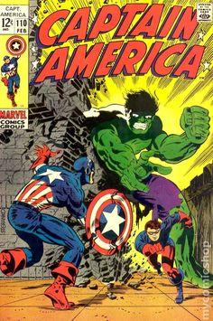Marvel Comics Retro: Captain America Comic Book Cover with the Hulk and Bucky Marvel Comics Poster - 30 x 41 cm Marvel Comics, Marvel Comic Books, Comic Book Heroes, Comic Books Art, Comic Art, Hulk Marvel, Avengers, Jack Kirby, Comic Book Artists