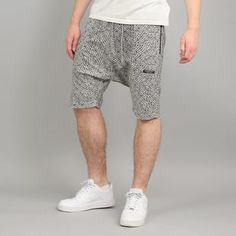 Cayler & Sons BL Presidential Low Crotch Sweat Shorts bílé / černé XL