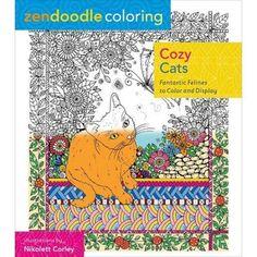 St. Martin's Books Zendoodle Coloring: Cozy Cats
