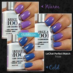 LeChat Perfect Match Mood Gel Polish - Trissie