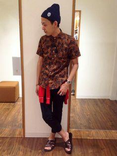 ikka 市川店 | DaWaWaさんのシャツ・ブラウス「ikka 半袖綿麻リゾートシャツ」を使ったコーディネート