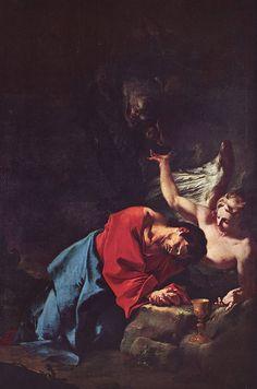Paul Troger, Le Christ au Mont des Oliviers