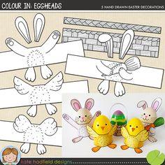 Colour In Eggheads