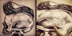 Loopa Apparel Series III by Ink On Skin , via Behance