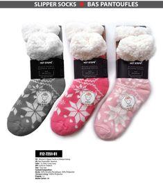 24d99ac193e HOT STEPS SLIPPER SOCKS - WOMEN - Pack of 3pcs - (F12-7251-81)  fashion   clothing  shoes  accessories  womensclothing  hosierysocks (ebay link)