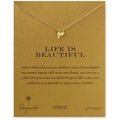 """Dogeared Life is Beautiful Necklace, 18"""" WANT IT x10!!!!!!!!"""