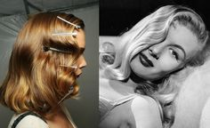 How to Create 1940s Pin Curls Waves (no heat / overnight) diy hair style