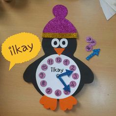 Here are the best 9 clock craft images and ideas for kids and adults. Clock crafts help the kids to learn about time and the importance of time. Cd Crafts, Snowman Crafts, Foam Crafts, Arts And Crafts, Paper Crafts, Paper Art, Snowman Ornaments, Clock Craft, Diy Clock