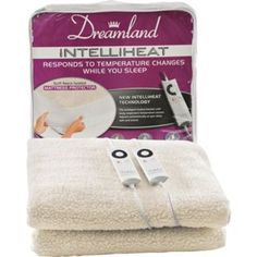 Buy Dreamland Intelliheat Mattress Protector - Double Dual at Argos.co.uk, visit Argos.co.uk to shop online for Electric blankets
