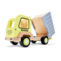Wooden Toy Dump Truck | Kmart