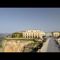 Parador de Ronda | Paradores de Turismo Andalusia, Palace, Spain, Louvre, Mansions, House Styles, Building, Travel, Landscapes